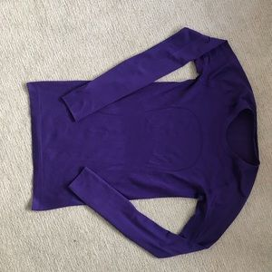 lululemon Swiftly Long Sleeve Tech CRPL purple